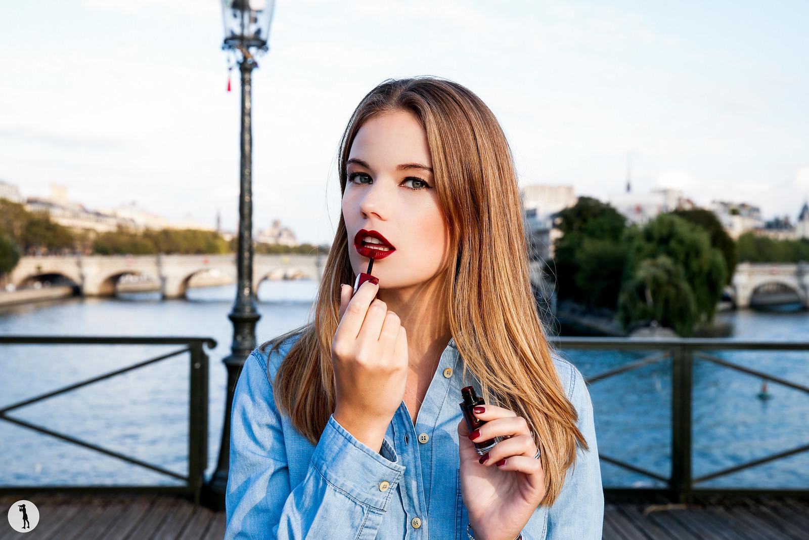 Beauty shooting for Bourjois in Paris