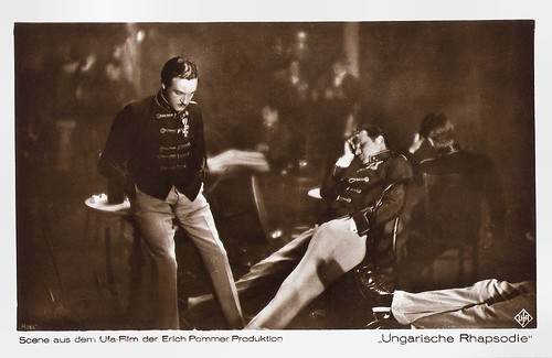 Willy Fritsch in Ungarische Rhapsodie (1928)