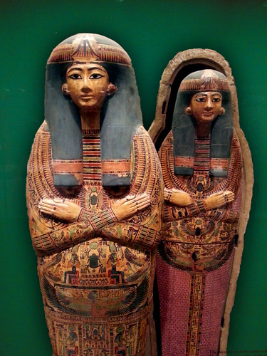 Amun Re Photographic Arts: Coffin Set Of The Singer Of Amun-Re, Henettawy (F) Third I