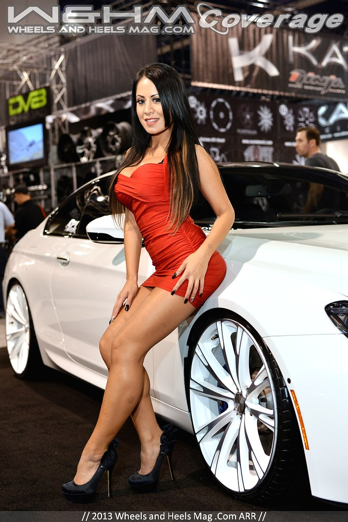 Top Quality HQ HR Pictures of Girls of SEMA 2013 Car Show   Flickr