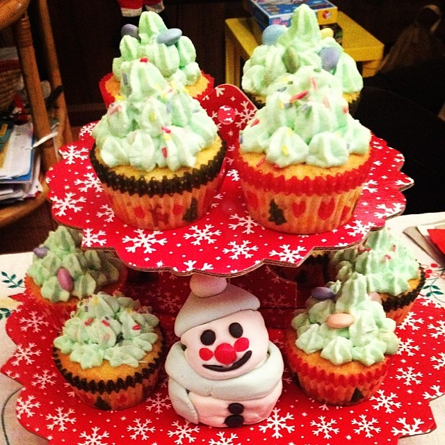 I Cupcake Che Feci A Natale Christmas Holiday Happy Flickr