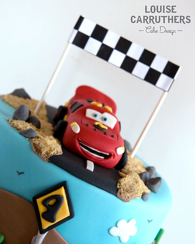 Cars Mcqueen Birthday Cake