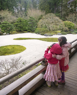 Girls at Japanese Garden, Portland, OR | by paperseed