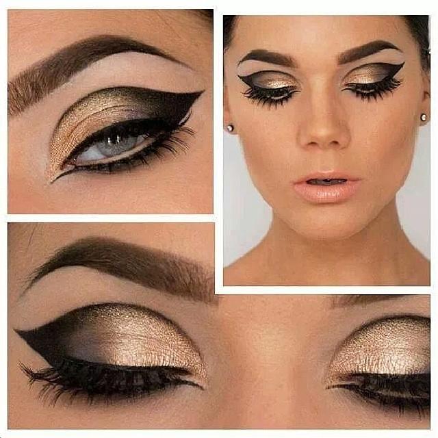 Modified Golden Cleopatra Eye Makeup Makeuplook Be Flickr