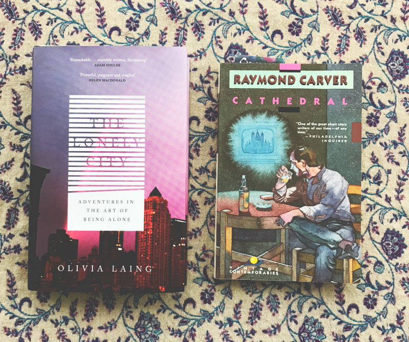 the lonely city olivia laing cathedral raymond carver tbr blog book bloggers in the uk vivatramp