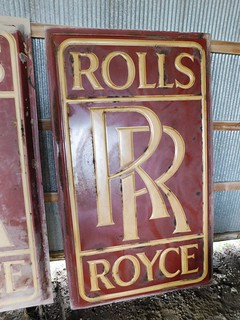 Rolls Royce adv sign | by thornhill3