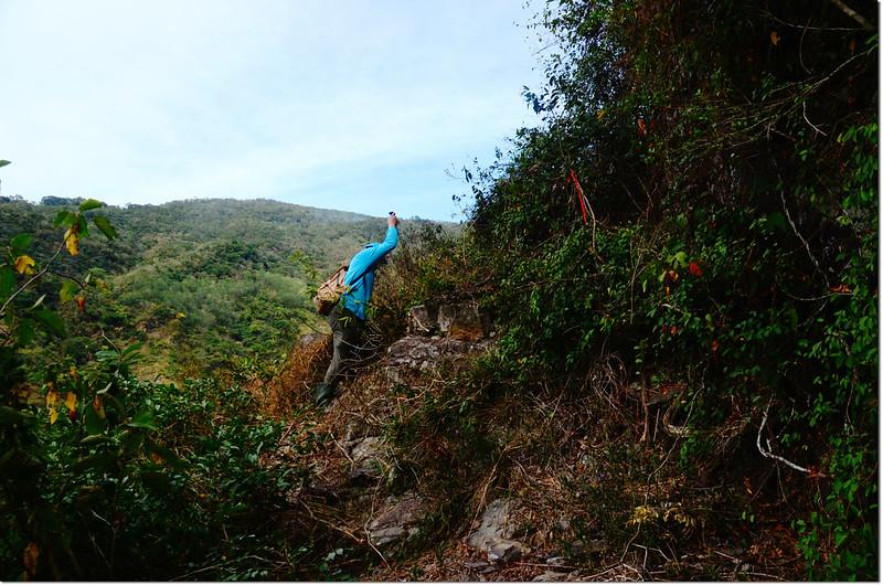 吐蛇流西北峰登山路徑 1