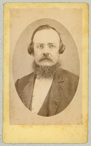 CDV portrait of man