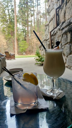 Drinks at the Ahwahnee