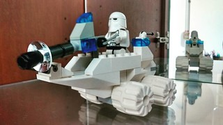 Rebuilt one of my first ever professional sets for the new cabinet:) a nice simple start... #brickyourself #brickmandan #lego. #makeyourselfinlego #lego snow trooper #lego snow trooper mobile | by BrickManDan