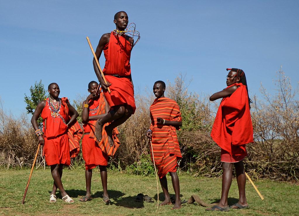 Maasai Jumping Dance   Maasai Mara, Kenya   Andrew Ross   Flickr