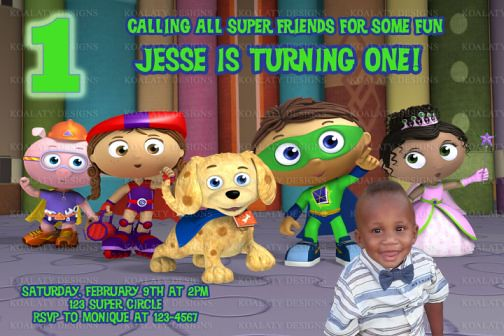 Super why birthday invitations with photo super why birthd flickr super why birthday invitations with photo by kdesigns2006 filmwisefo