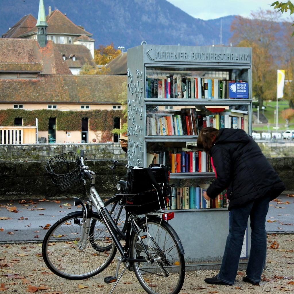 Soleure Solothurn Public Bookshelf