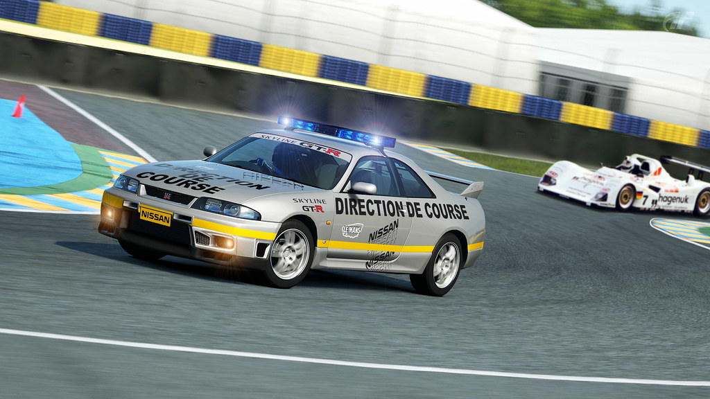 Nissan Skyline R33 Pace Car 1997 24 Hours Of Le Mans Flickr