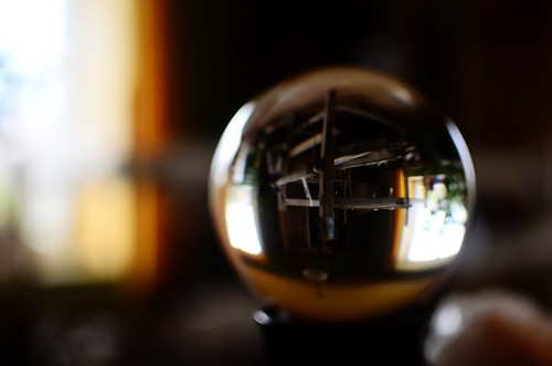 Loom in crystal ball | by jcubic