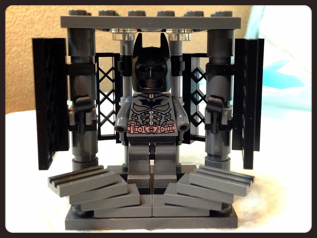 Batman armory movie scene Lego Moc | GantzGuru | Flickr