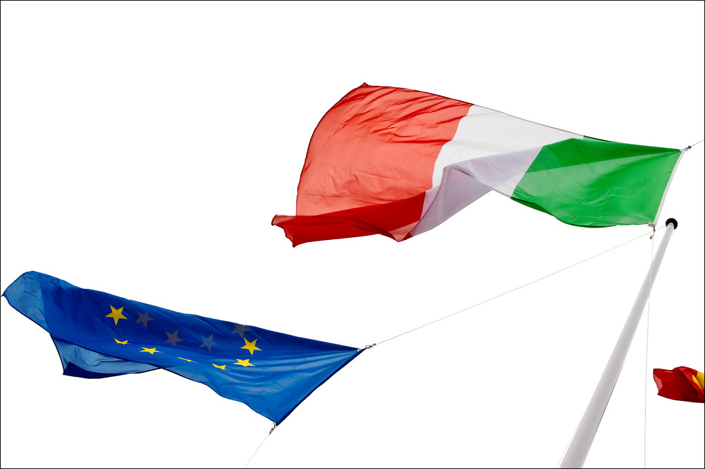 Image result for italy europe flag