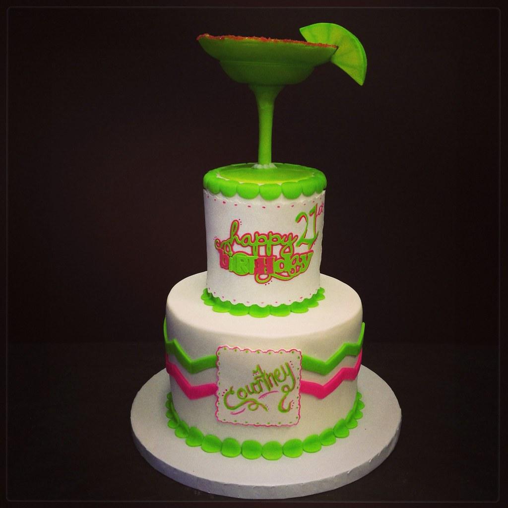 Margarita 21st Birthday Cake Jenna Jones Flickr
