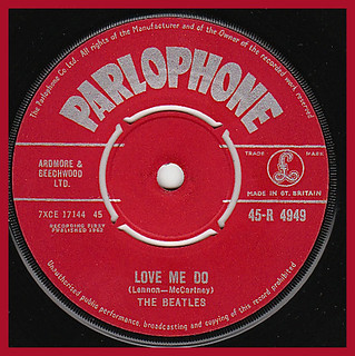 "5th October 1962 - The Beatles : ""Love Me Do"" 