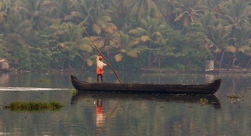Kerala Backwaters, India, 2009