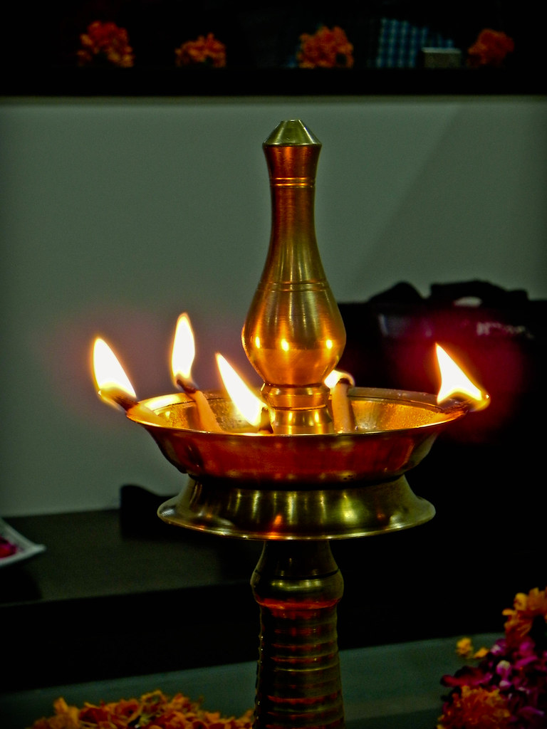 Elegant ... Singnificane Of Lighting The Lamp At Inauguration | By Panache Dreamer