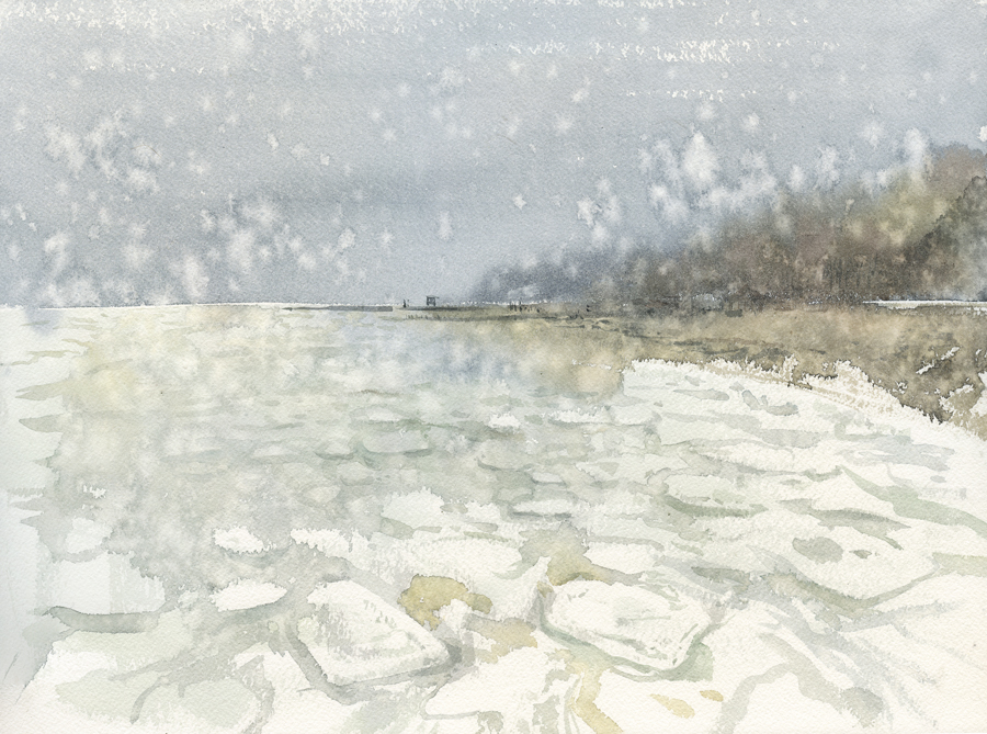 winter sea