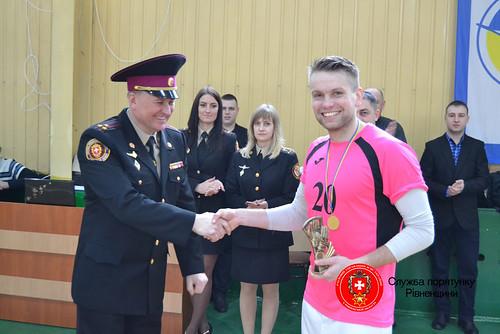 Рятувальники Херсонщини стали у Рівному чемпіонами ДСНС України з футзалу
