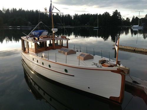 M Ii Lake Union Dreamboat At Port Madison Rick Etsell