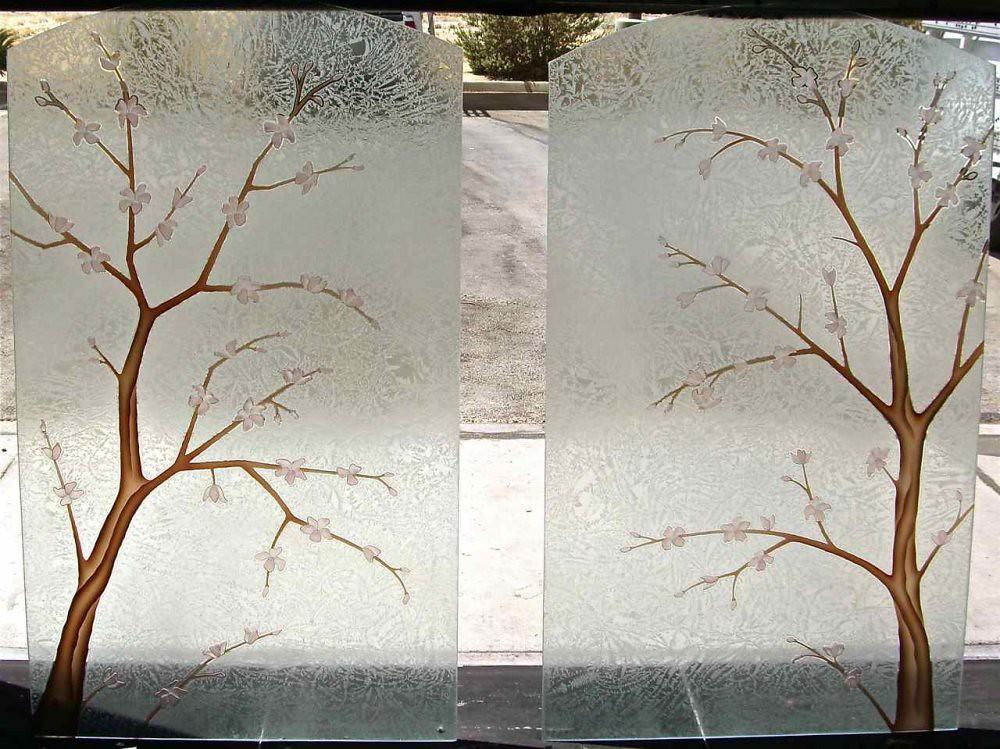 decorative glass windows creative glass decorative glass windows cherry tree by sans soucie art glass studios inc this frosted enu2026 flickr