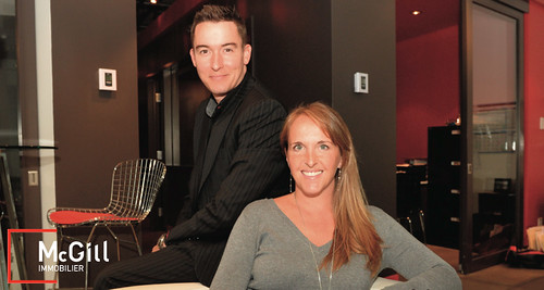 Patrice groleau et debby doktorczyk agence mcgill immobili for Agence immobiliere montreal