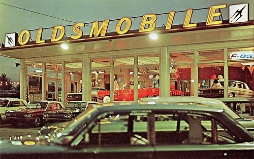 Pitcairn Oldsmobile, Langhorne PA, 1962 | 1862 Lincoln Highw… | Flickr