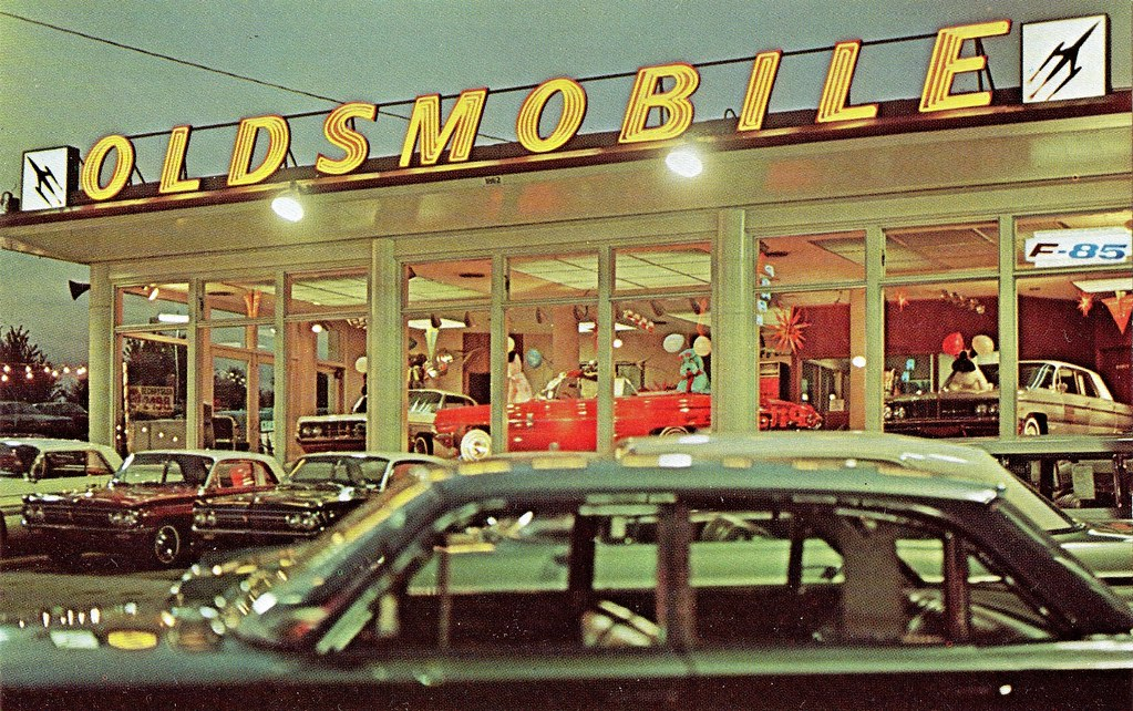 Pitcairn Oldsmobile, Langhorne PA, 1962 | 1862 Lincoln Highw… | Flickr