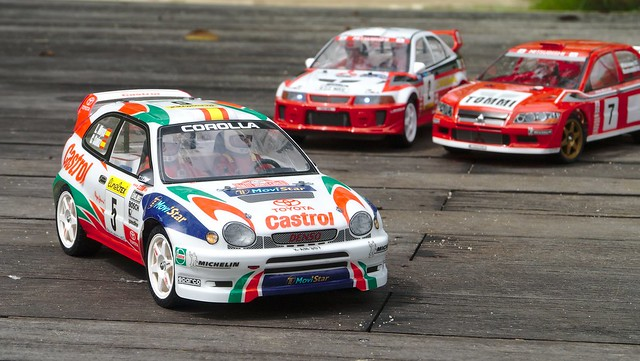 tamiya - [PHOTOS] Japanese rally cars from the 90s, Tamiya-style 32719987460_ab5b6e5a87_z
