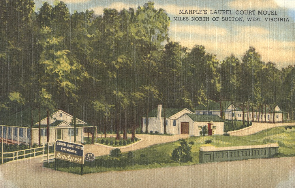 Marple's Laurel Court Motel - Sutton, West Virginia