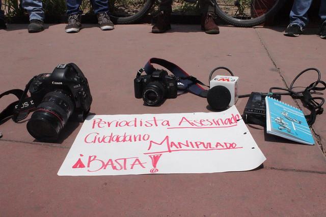 Periodistas tapatíos exigen justicia por la muerte de Miroslava Breach