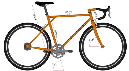 emergency randonneuse (bikecad)