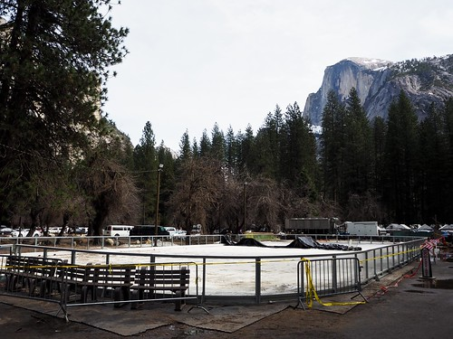 Camp Curry / Half Dome Village in March