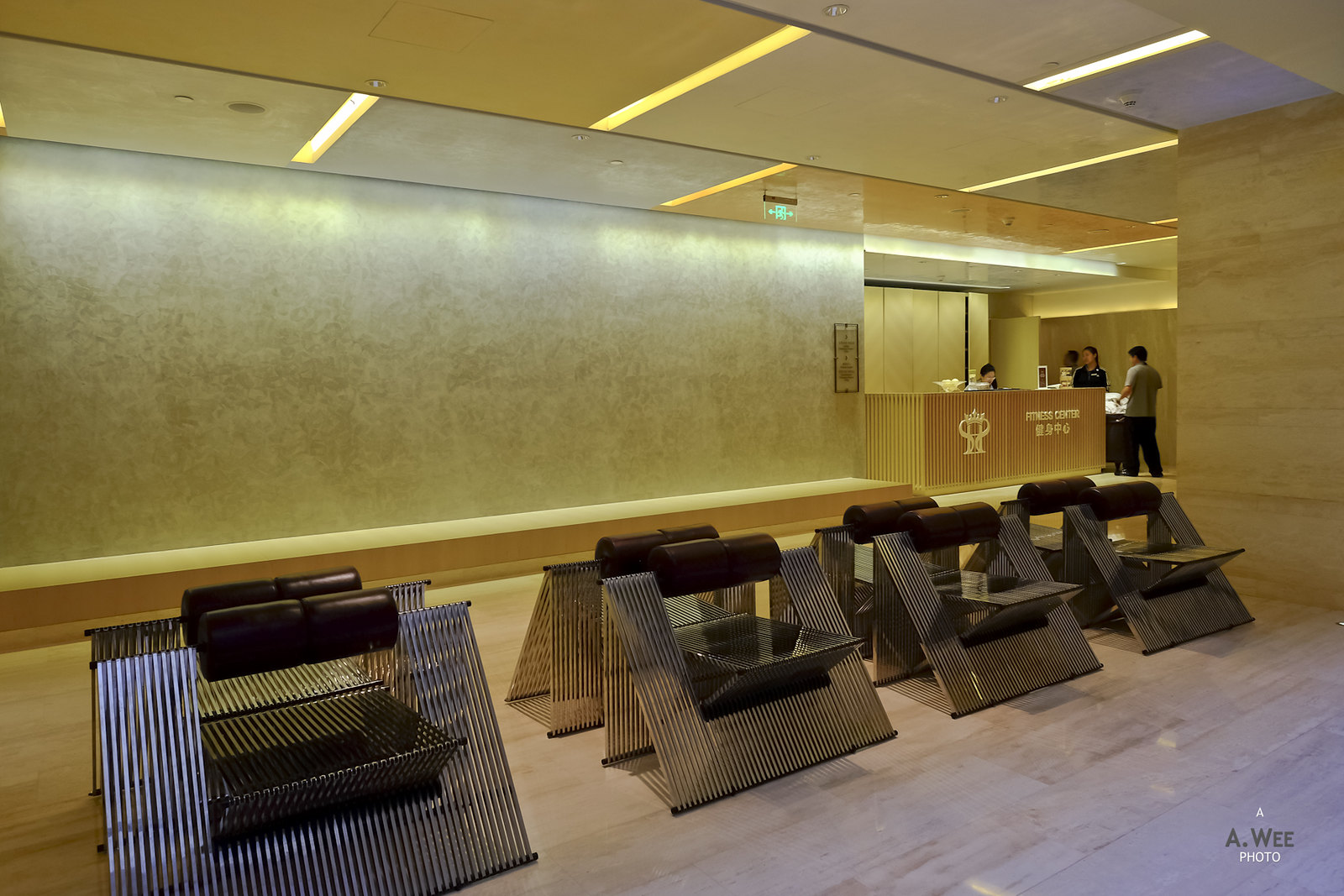 Fitness and Spa reception