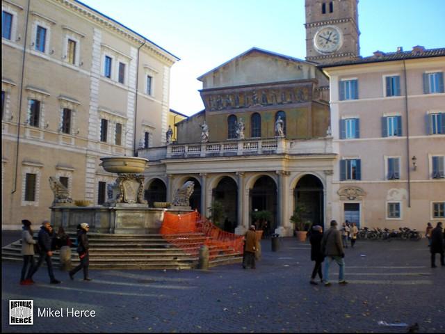 130. Basílica de Santa María en Trastevere