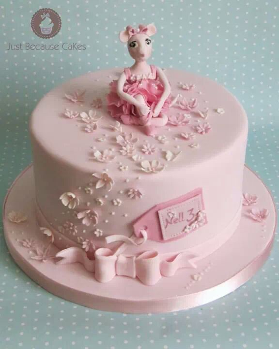 Angelina Ballerina Birthday Cake For Girls Angellina Balle Flickr