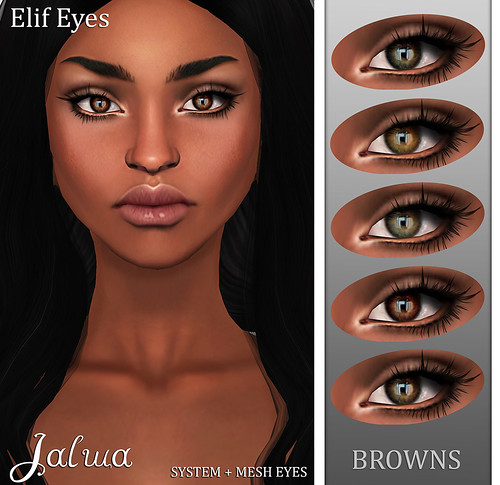 Elif Eyes - Browns | by Mayaa Thistle / Apsara / Jalwa / Bilo