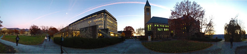 Panorama Olin Evening | by Cornell University Library Communications