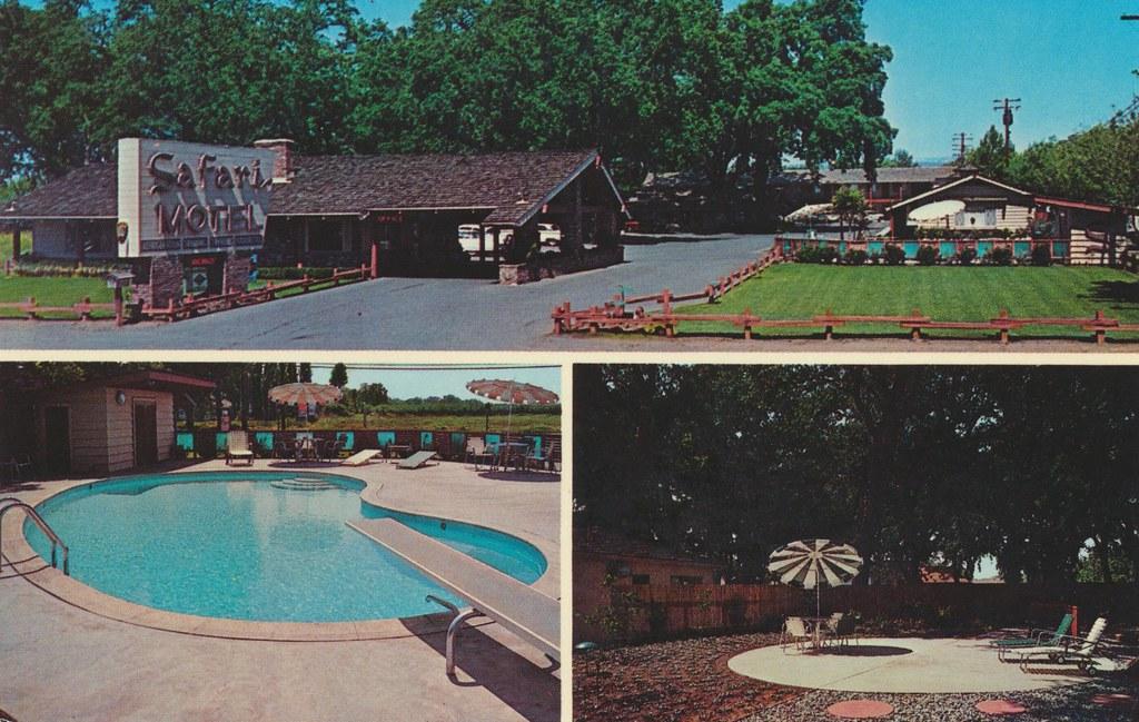 Safari Garden Motel - Chico, California