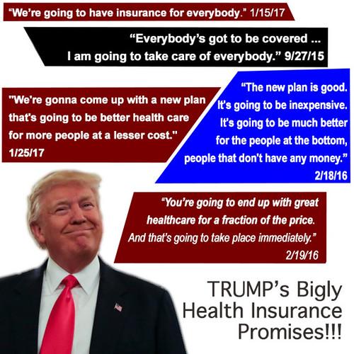 Trump Healthcare Quote: Trump Health Care Promises