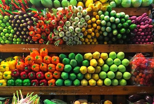 Fake fruit at Chatuchak Weekend Market