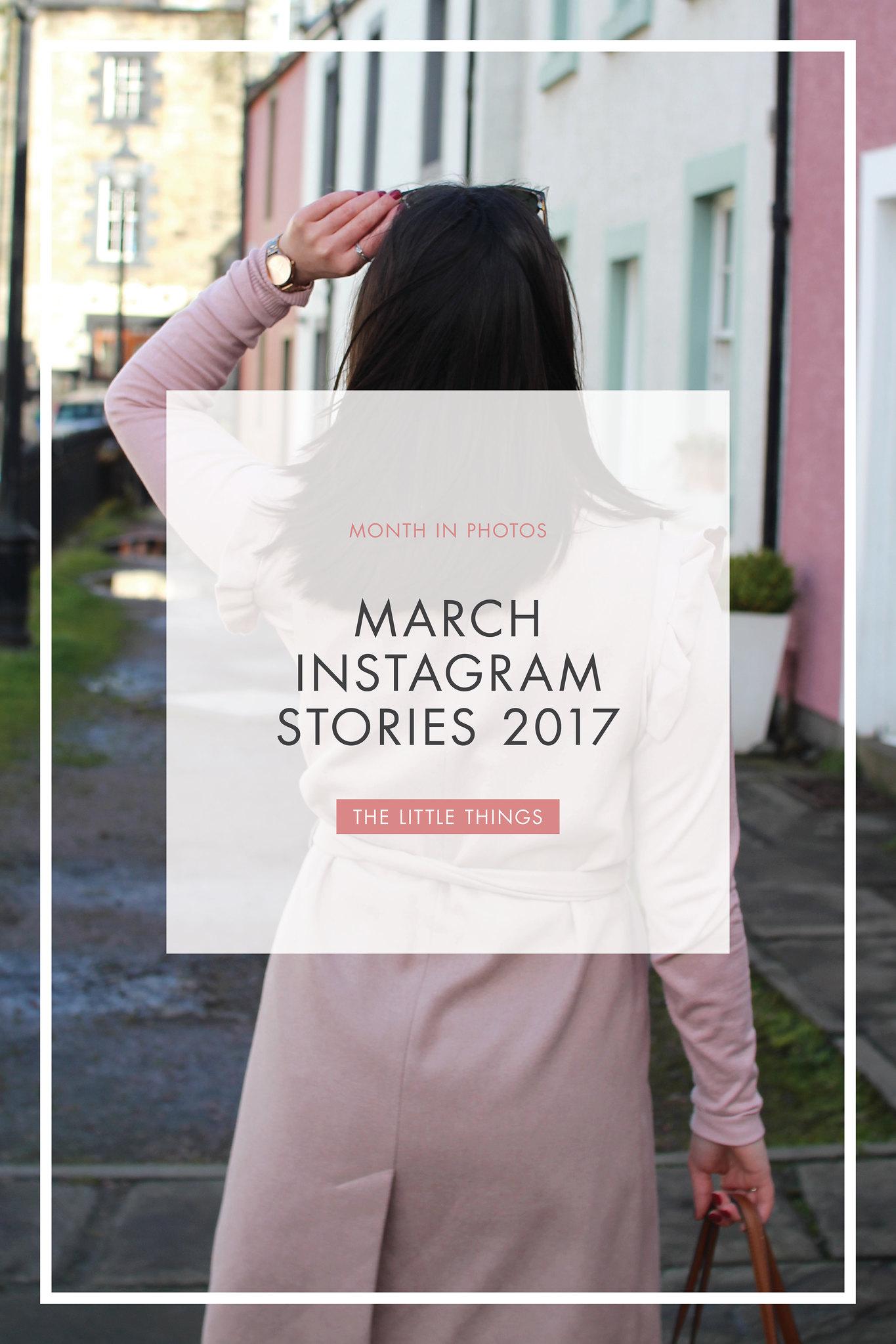 March Instagram stories 2017