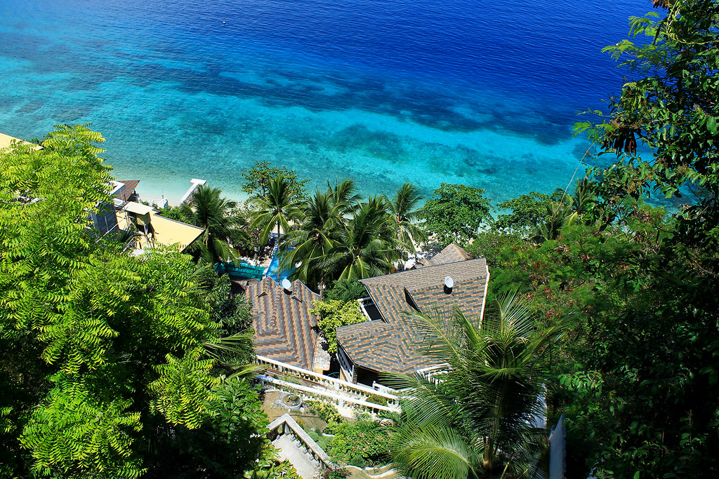 seafari resort top view