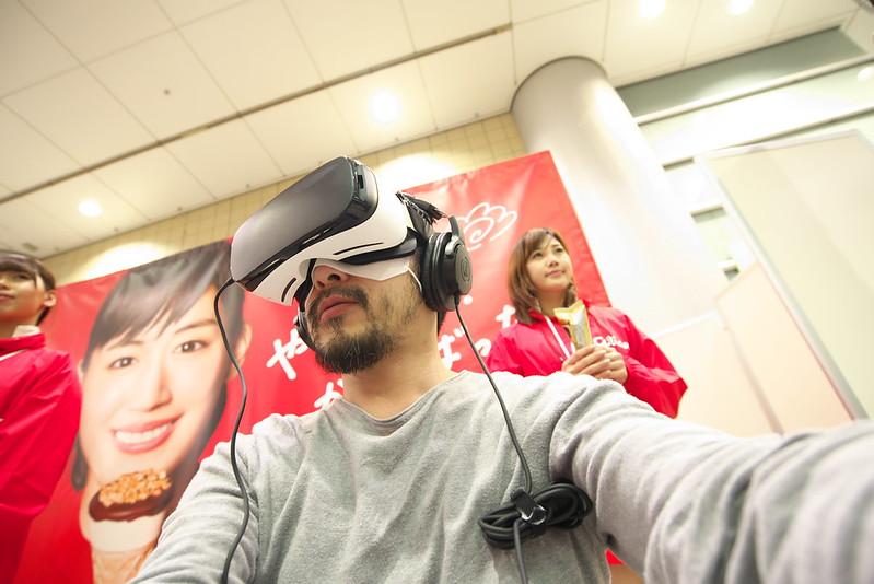 江崎グリコ ジャイアントコーン 特別VRコンテンツ体験イベント