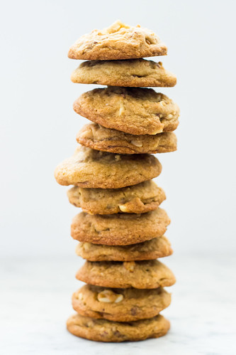Salted Toffee Crunch Cookies | by Kitchenette Blog