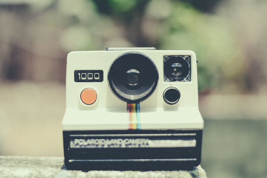 Camera Vintage Tumblr : Polaroid camera vintage camera u003c3 facebook │ instagram │ 5